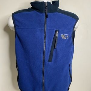 Mountain hard wear fleece vest men's medium